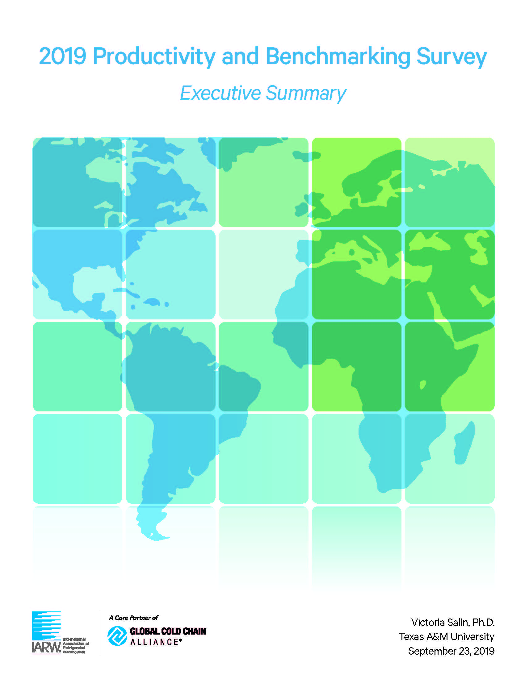 2019 Productivity and Benchmarking Report - Executive Summary
